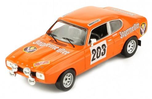 Miniatura Ford Capri MK I #203 Rally Monte Carlo 1/43 Ixo