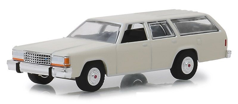 Miniatura Ford Crown Victoria 1984 Estate Wagons 1/64 Greenlight