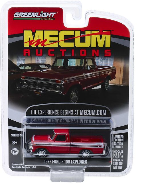 Miniatura Ford F100 1977 Mecum Auctions 1/64 Greenlight
