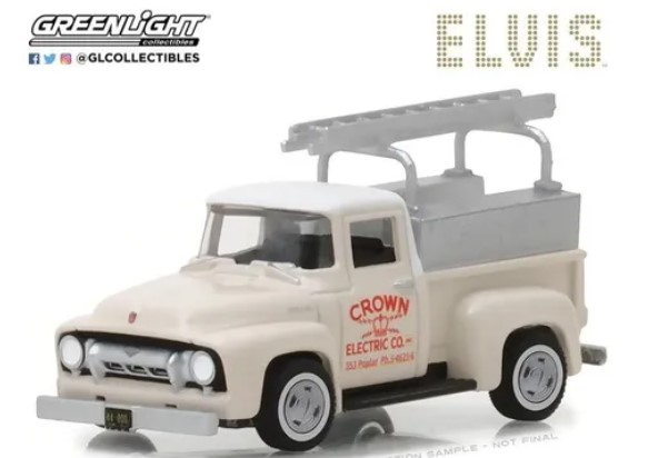 Miniatura Ford F-100 1954 Elvis Presley 1/64 Greenlight