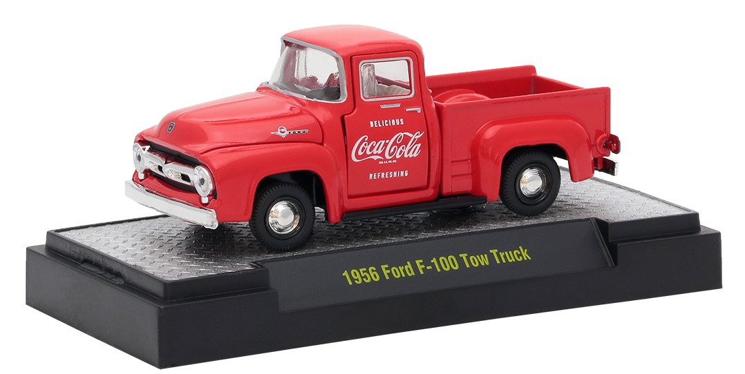 Miniatura Ford F-100 1956 Coca Cola 1/64 M2