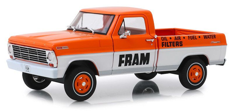 Miniatura Ford F-100 1967 Fram Oil Running on Empty 1/24 Greenlight