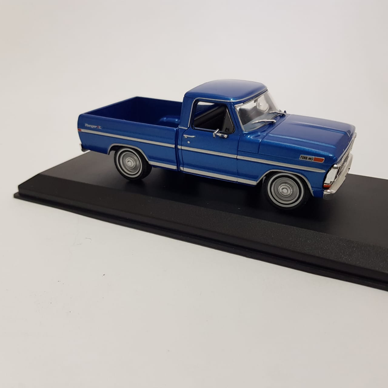 Miniatura Ford F-100 1970 Azul 1/43 Greenlight