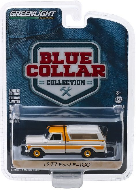 Miniatura Ford F-100 1977 1/64 Greenlight