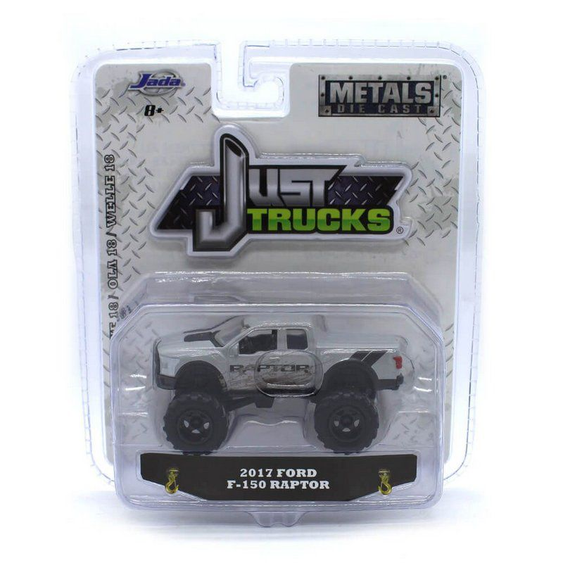 Miniatura Ford F-150 Raptor 2017 Just Trucks 18 1/64 Jada Toys