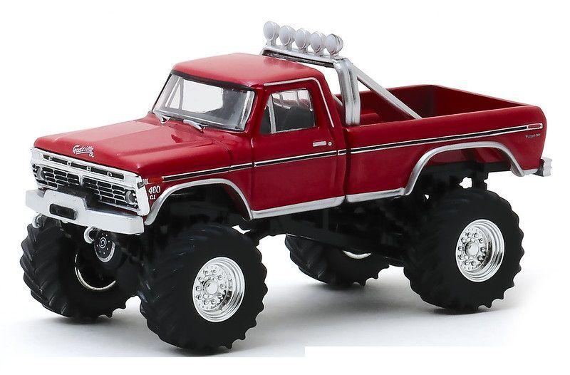 Miniatura Ford F-250 1974 Monster Truck Godzilla 1/64 Greenlight