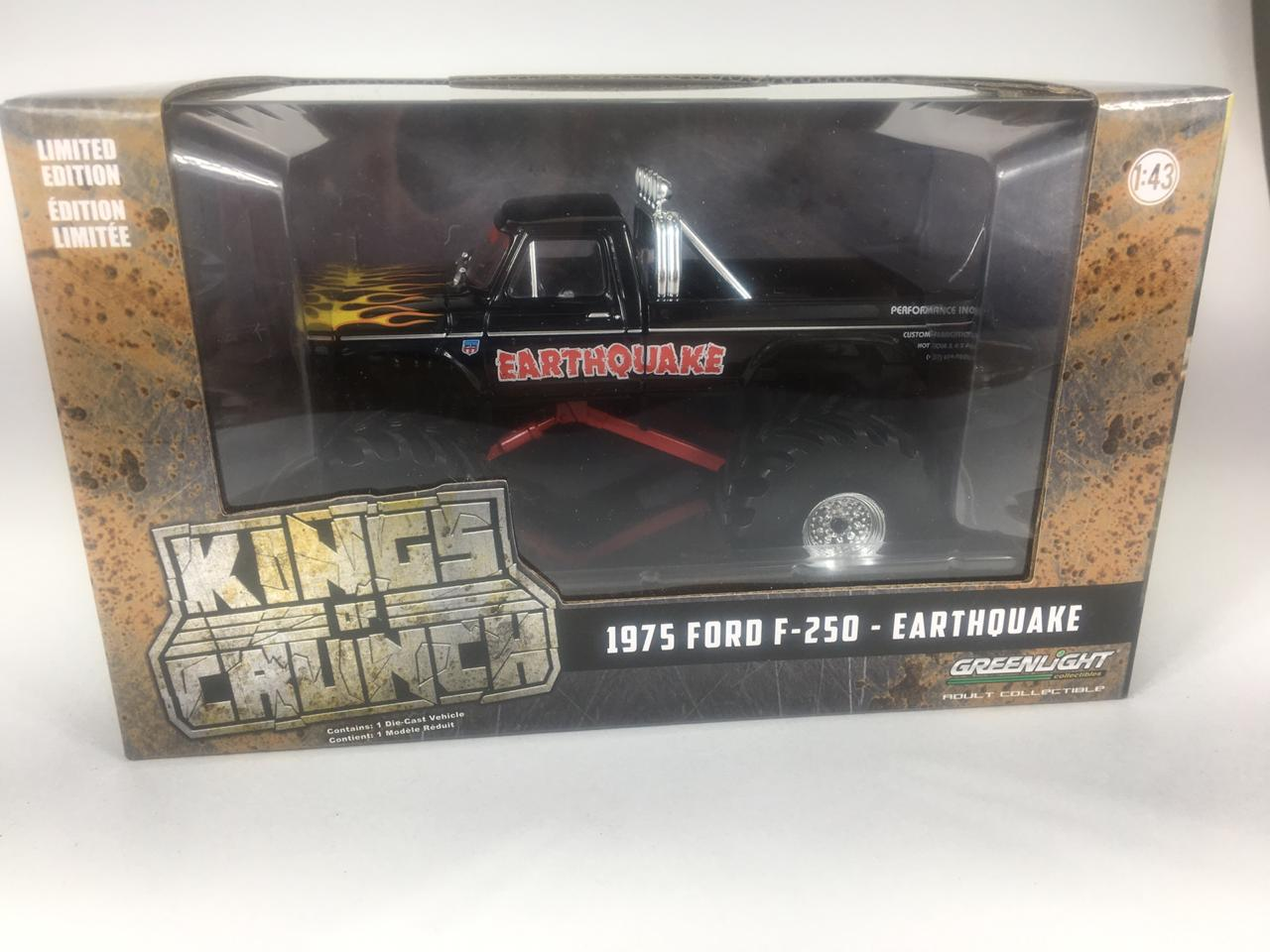 Miniatura Ford F-250 1975 Earthquake Kings of Crunch 2 1/43 Greenlight