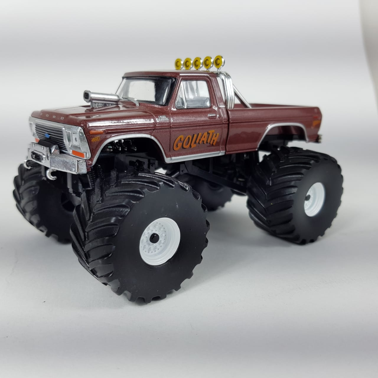 Miniatura Ford F-250 1979 Goliath Tow Truck 1/43 Greenlight
