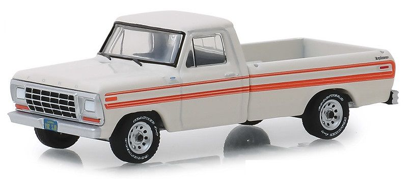 Miniatura Ford F-250 Explorer 1979 All Terrain 1/64 Greenlight