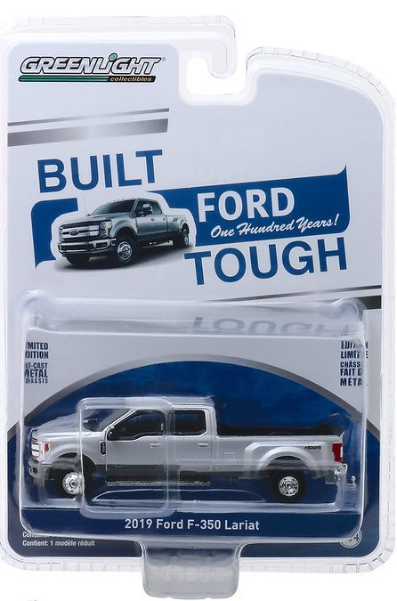 Miniatura Ford F-350 2019 1/64 Greenlight