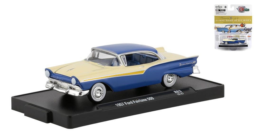 Miniatura Ford Fairlane 500 1957 1/64 M2