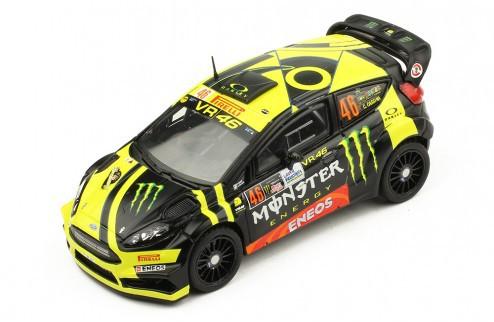 Miniatura Ford Fiesta R5 #46 Rally 1/43 Ixo