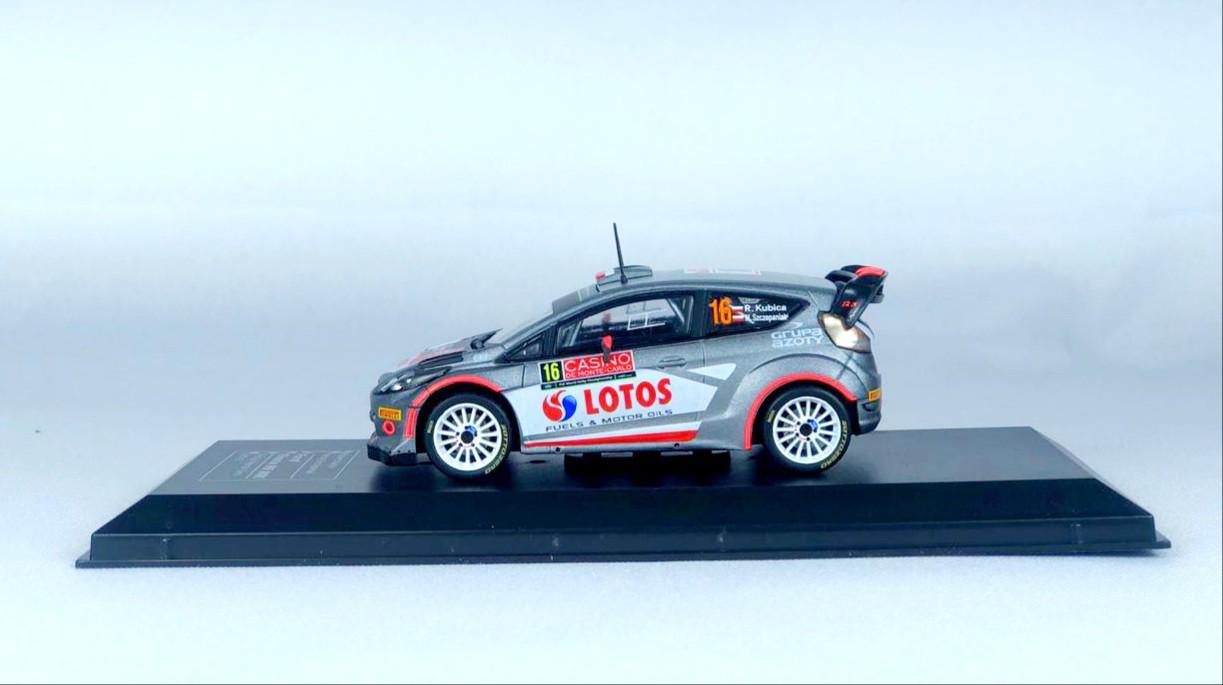 Miniatura Ford Fiesta RS WRC 2015 Monte Carlo Rally 1/43 Ixo