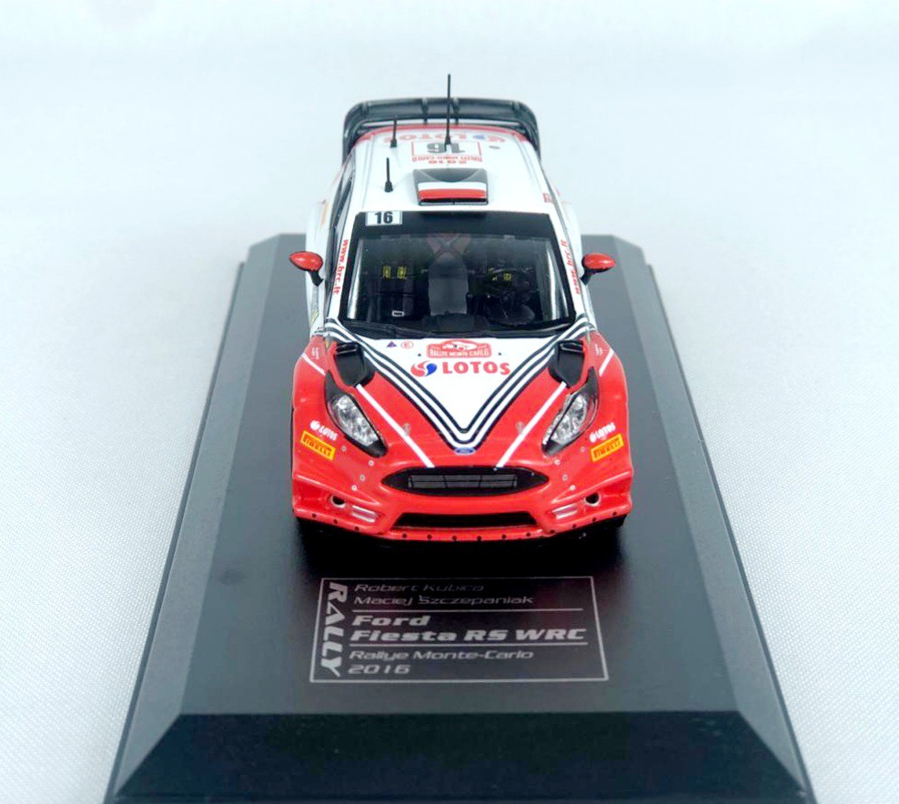 Miniatura Ford Fiesta RS WRC 2016 Rally 1/43 Ixo