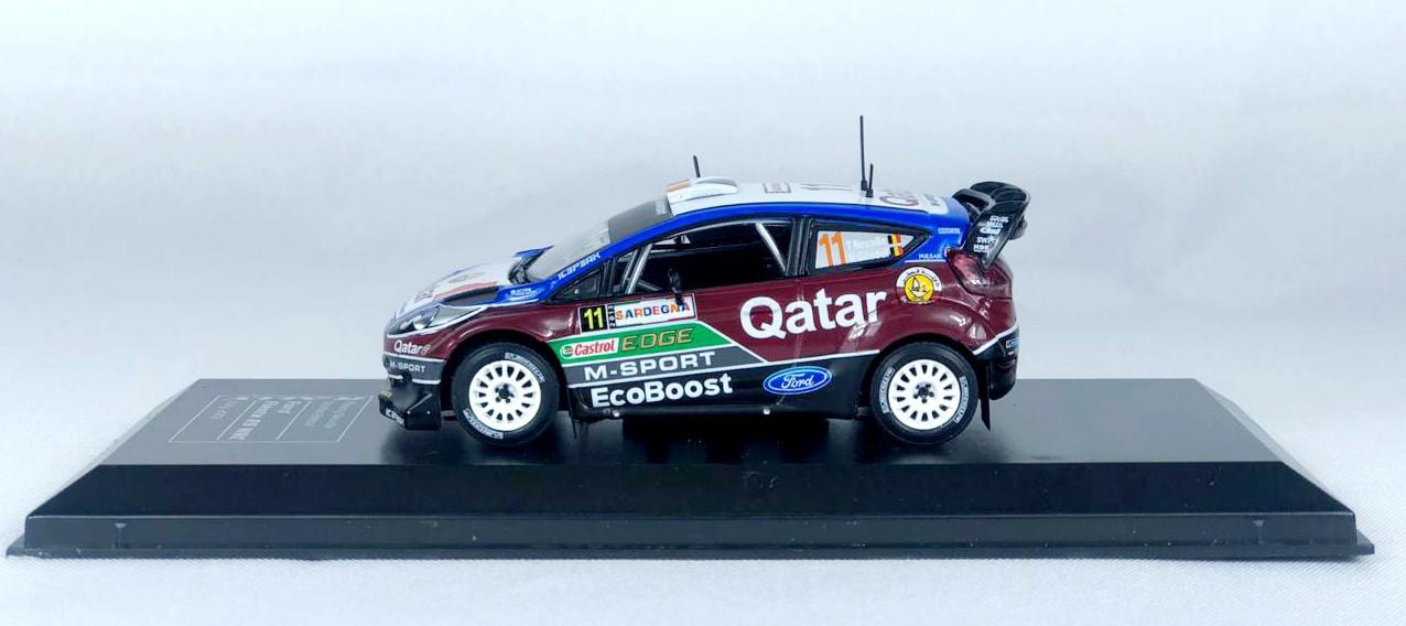 Miniatura Ford Fiesta RS WRC 2016 Rally Italia 2013 1/43 Ixo