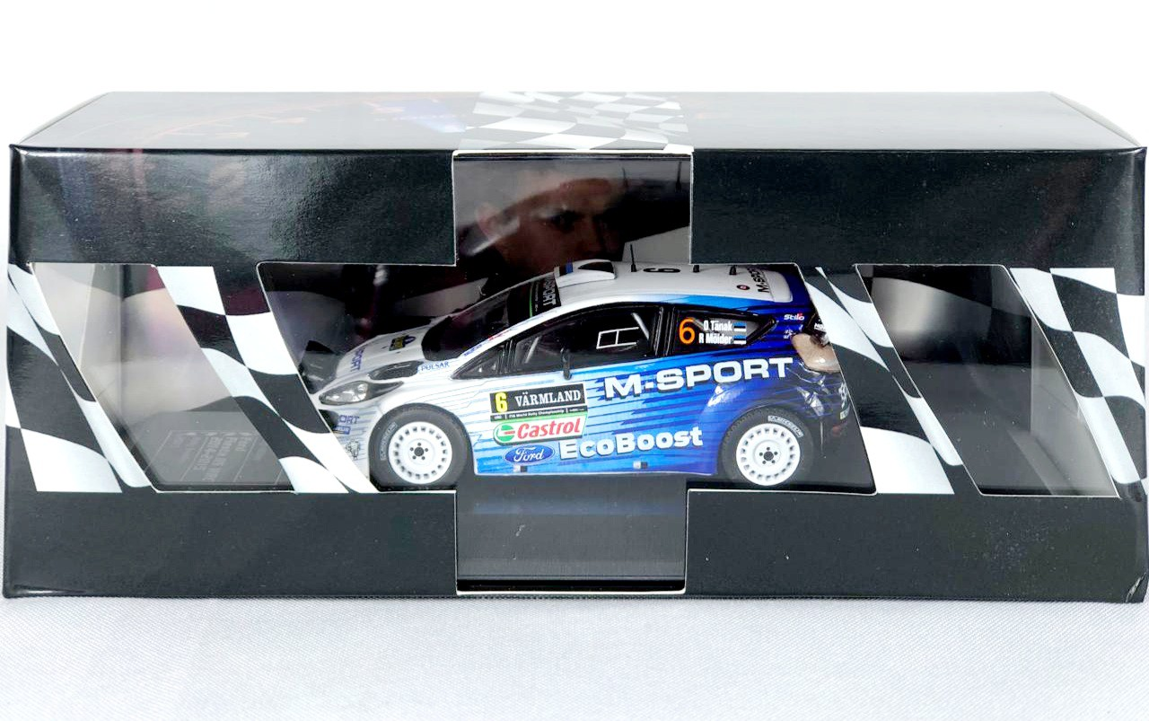 Miniatura Ford Fiesta RS WRC Rally 1/43 Ixo