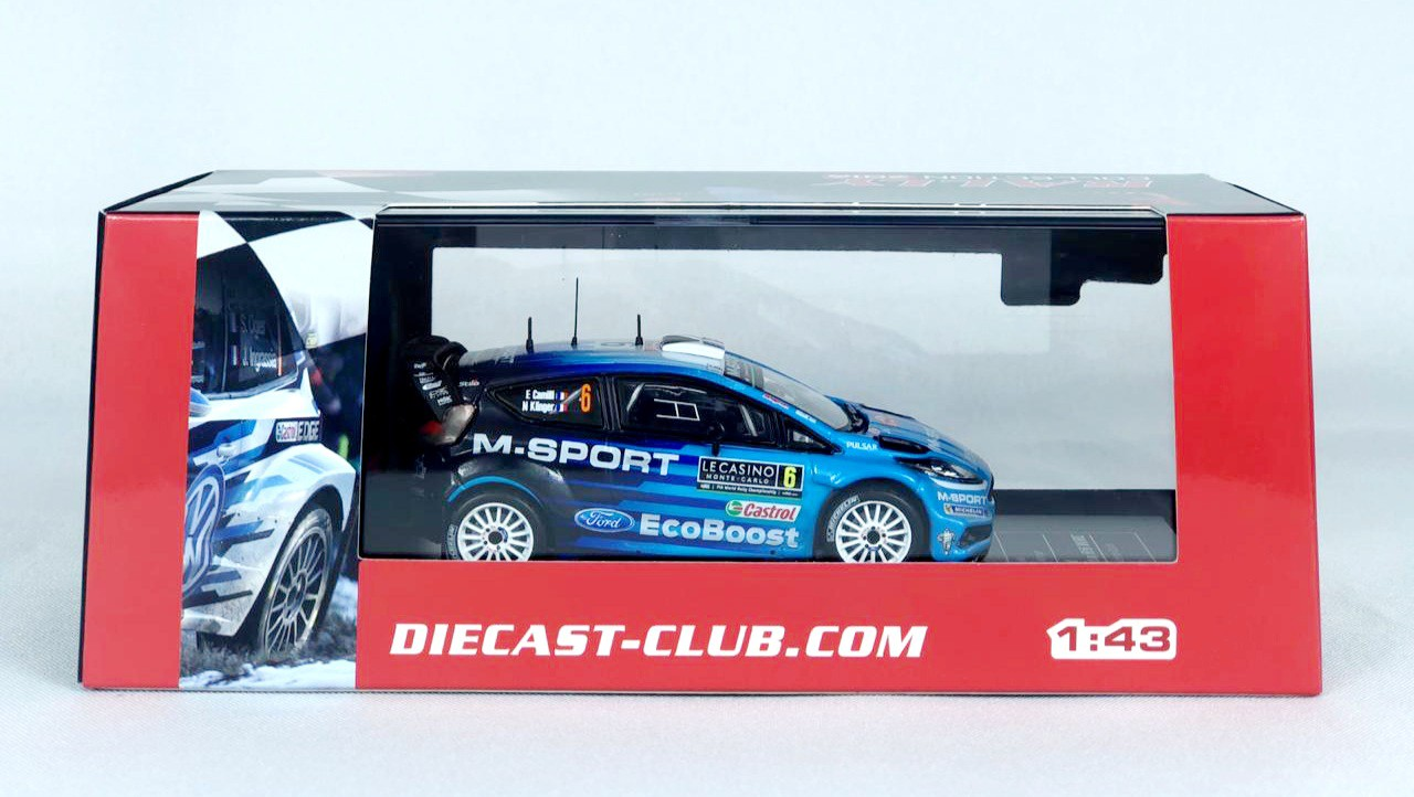 Miniatura Ford Fiesta RS WRC Rally Monte Carlo 2016 1/43 Ixo