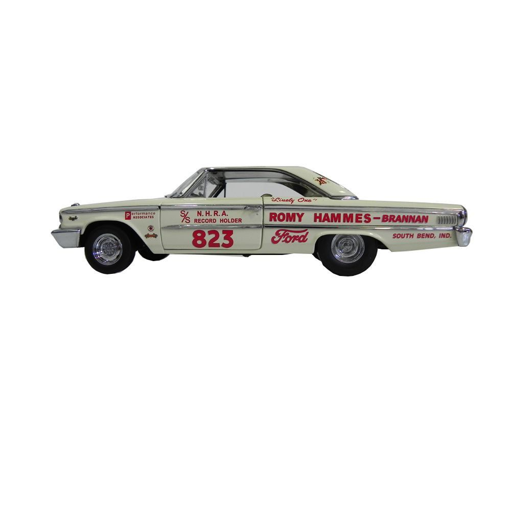 Miniatura Ford Galaxie 500 427 Lightweight H Top R D B 1963 1/18 Sun Star