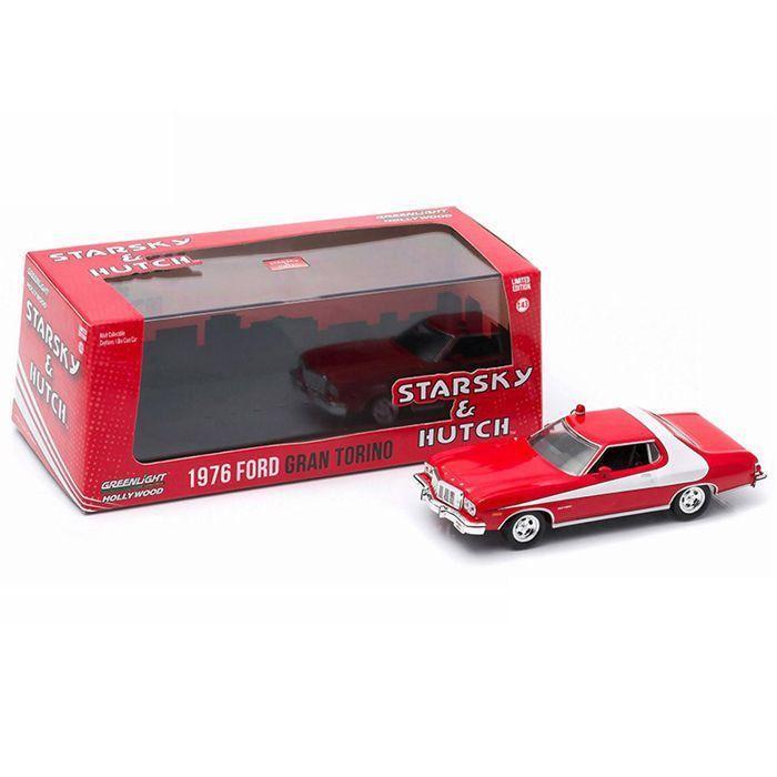 Miniatura Ford Gran Torino Starsky&Hutch 1976 1/43 Greenlight