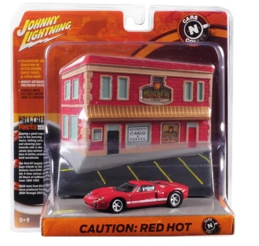 Miniatura Ford GT 2005  Cars N Coffee 1/64 Johnny Lightning