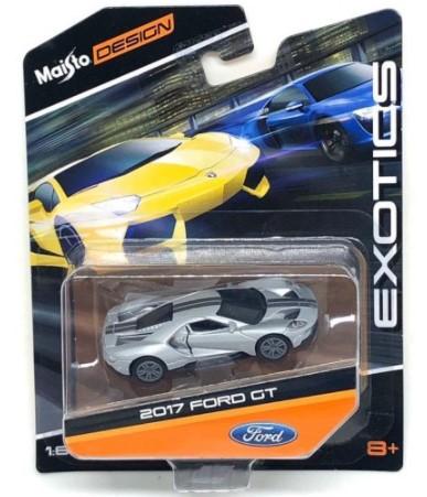 Miniatura Ford GT 2017 1/64 Maisto