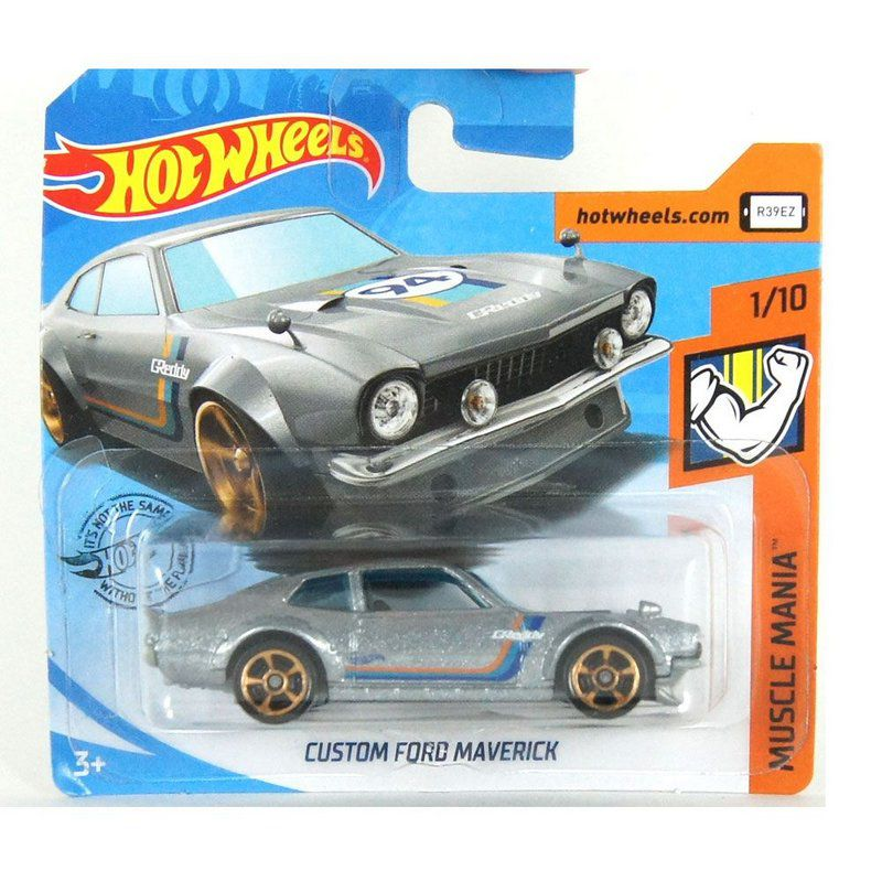 Miniatura Ford Maverick Custom Muscle Mania 1/64 Hot Wheels