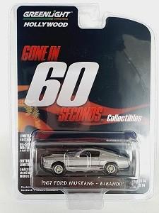 Miniatura Ford Mustang 1967 Eleanor 1/64 Greenlight