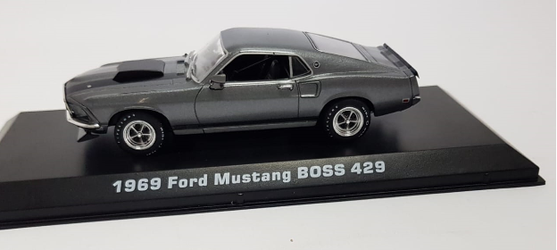Miniatura Ford Mustang Boss 1969 John Wick 2014 1/43 Greenlight