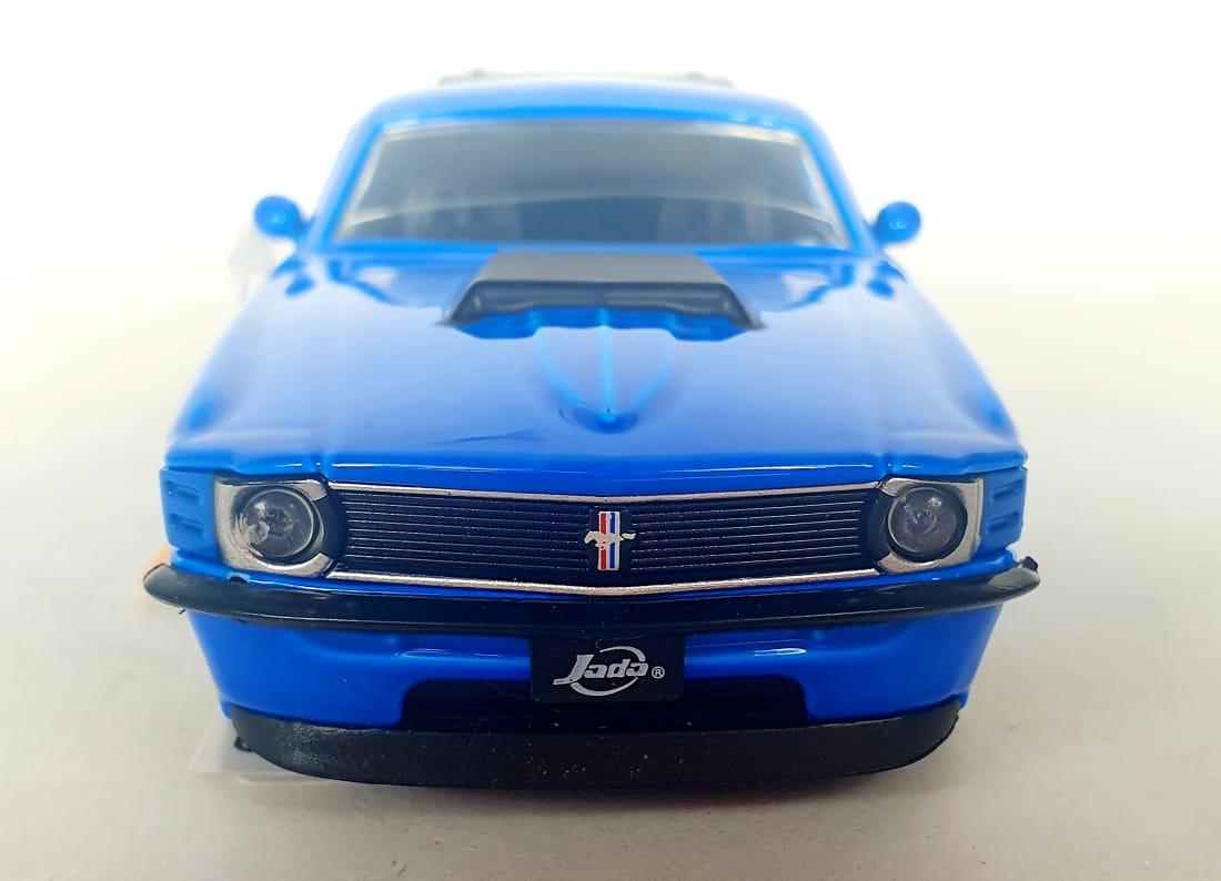 Miniatura Ford Mustang Boss 1970 1/32 Jada Toys Sem Caixa
