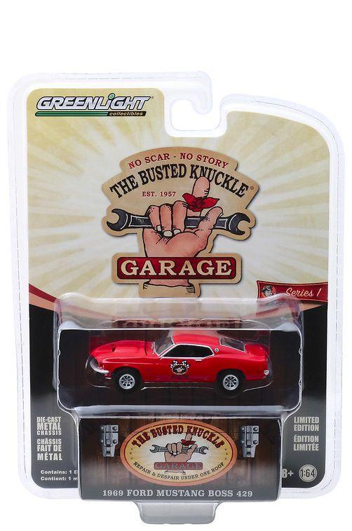 Miniatura Ford Mustang Boss 429 1969 1/64 Greenlight