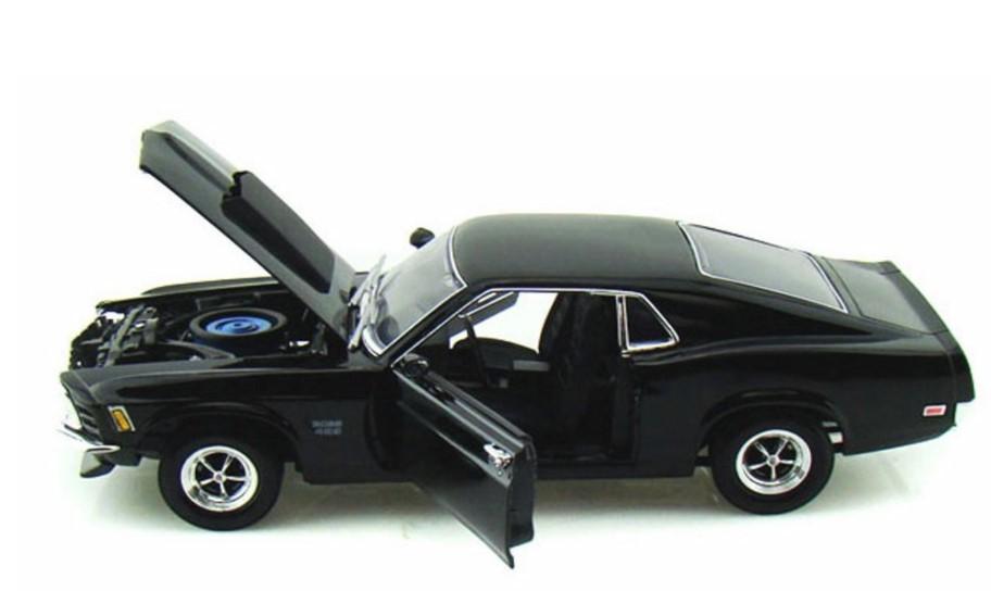 Miniatura Ford Mustang Boss 429 1970 1/18 Motor Max