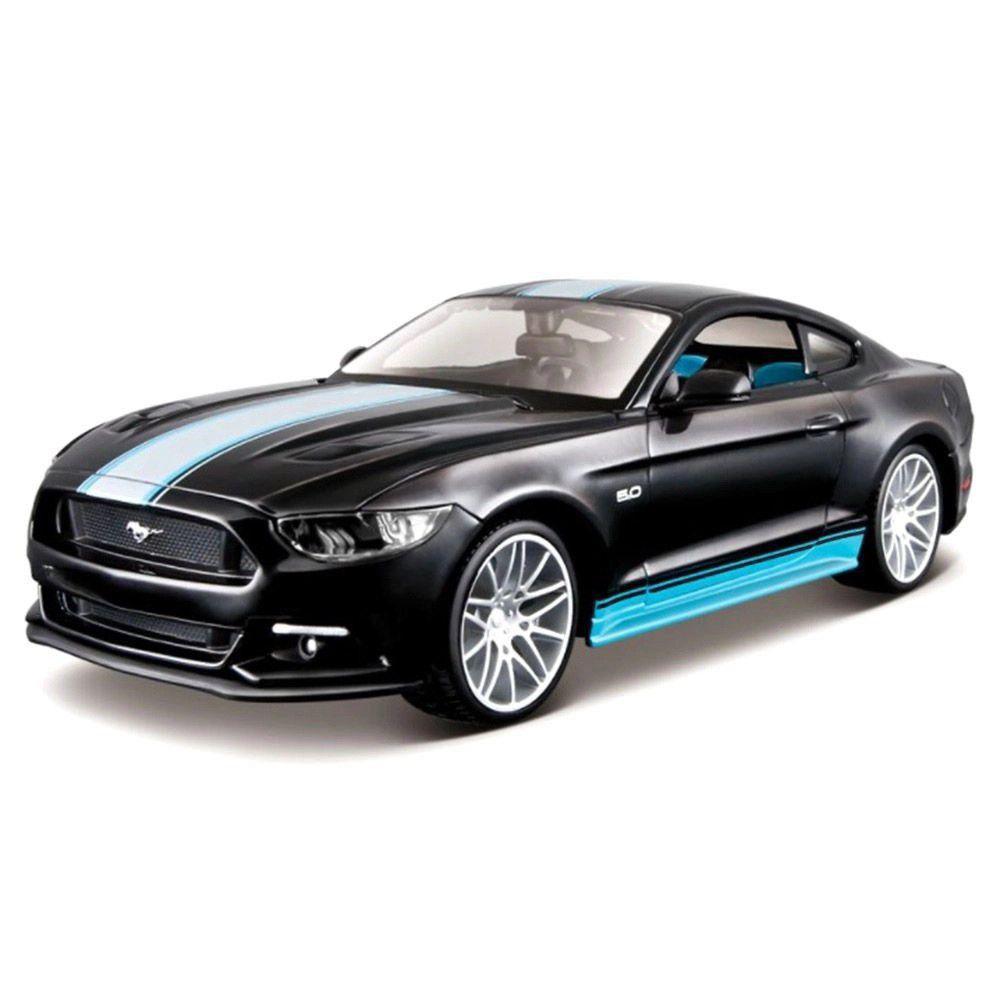 Miniatura Ford Mustang GT 2015 Kit Em Metal 1/24 Maisto
