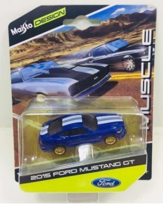 Miniatura Ford Mustang GT 2015 Muscle 1/64 Maisto