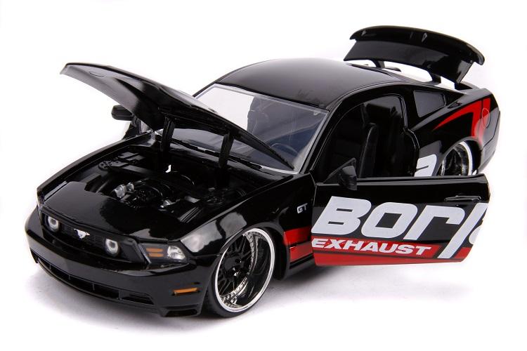 Miniatura Ford Mustang GT Borja Exhaust 2010 1/24 Jada Toys