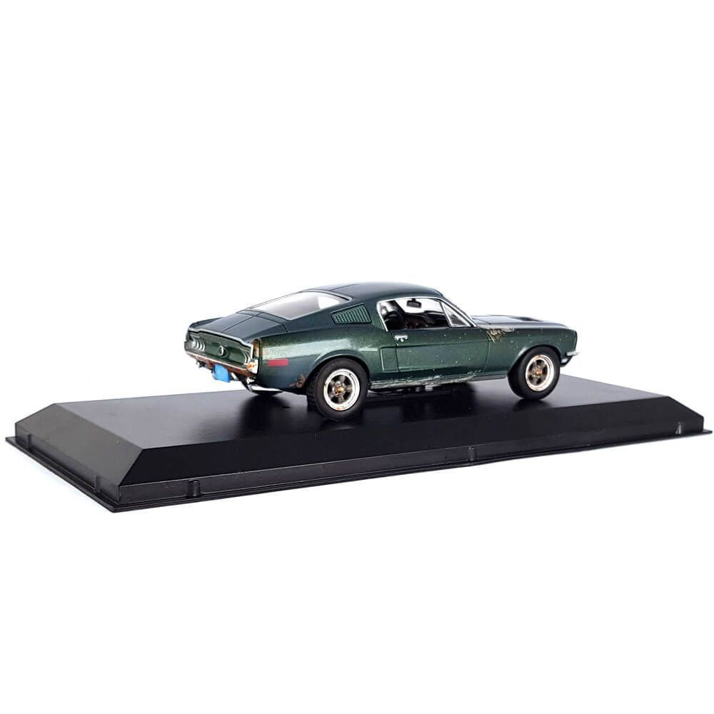 Miniatura Ford Mustang GT Fastback 1968 Unrestored Steve McQueen Collection 1/43 Greenlight