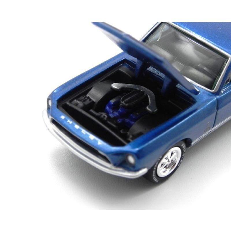 Miniatura Ford Mustang Shelby Gt 500 1968 1/64 Johnny Lightning