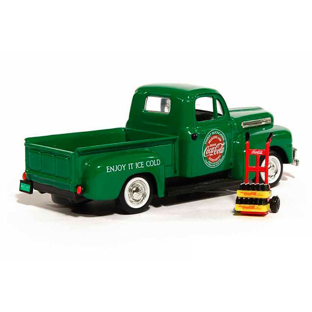 Miniatura Ford Pickup 1948 Verde Coca Cola 1/43 Motorcity Classics