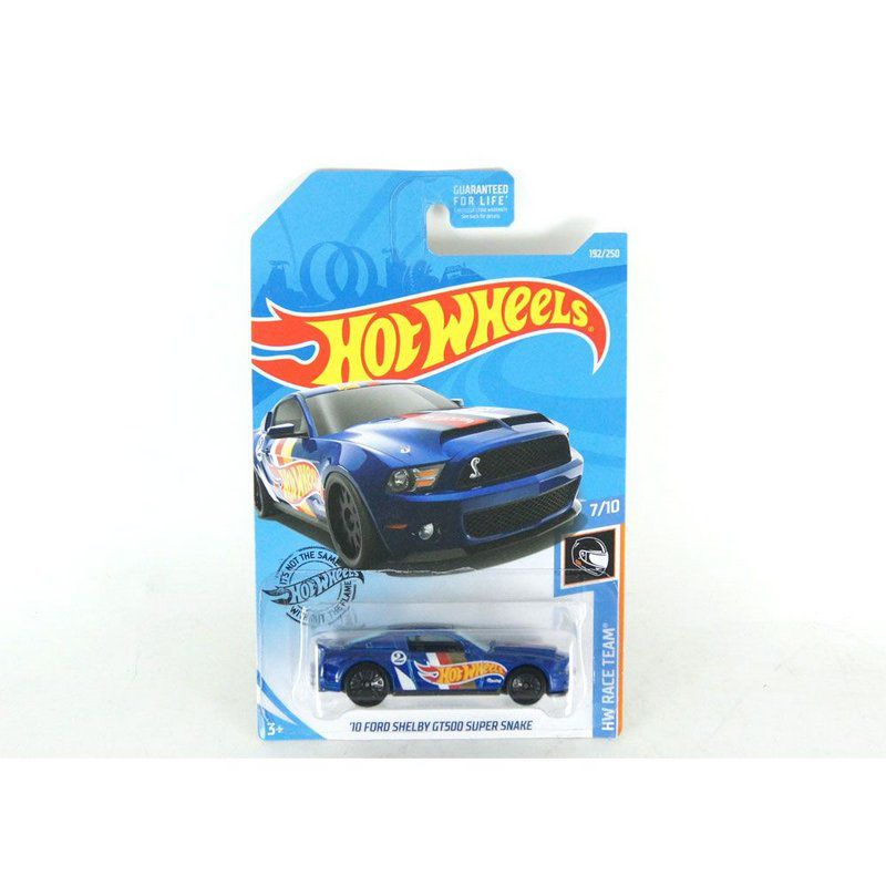 Miniatura Ford Shelby GT500 Super Snake 2010 1/64 Hot Wheels