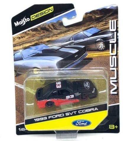 Miniatura Ford SVT Cobra 1993 Muscle 1/64 Maisto