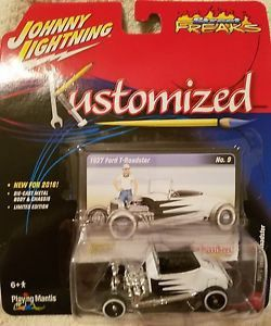 Miniatura Ford T-Roadster 1927 Kustomized 1/64 Johnny Lightning
