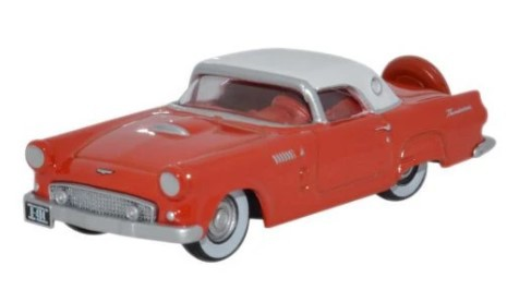 Miniatura Ford Thunderbird 1956 Fiesta Red Colonial 1/87 Oxford