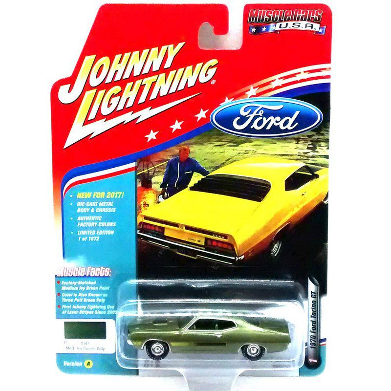 Miniatura Ford Torino GT 1970 Muscle Cars USA A 1/64 Johnny Lightning