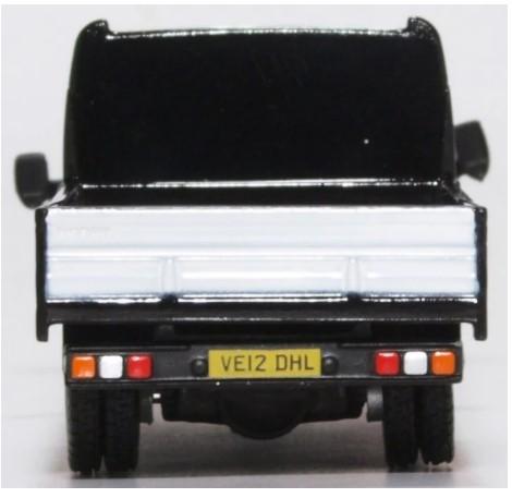 Miniatura Ford Transit Dropside Stobart Rail 1/76 Oxford