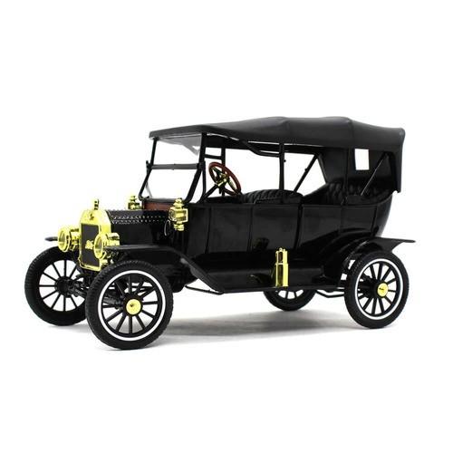 Miniatura Ford USA Model T Capota Fixa 1915 Preto 1/18 Motor City Classics