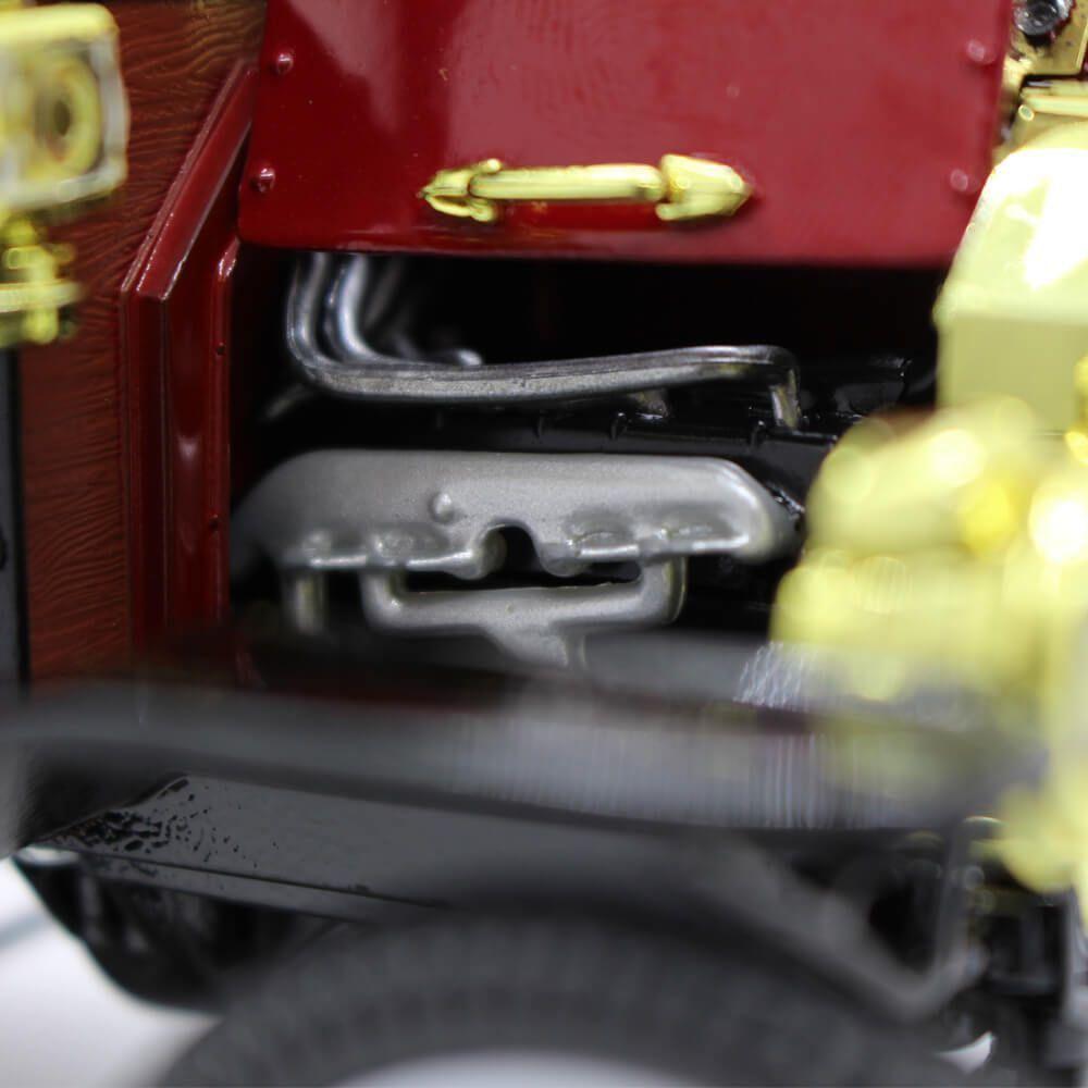Miniatura Ford USA Model T Capota Fixa 1915 Vermelho 1/18 Motor City Classics
