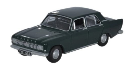 Miniatura  Ford Zephyr Goodwood Green 1/76 Oxford