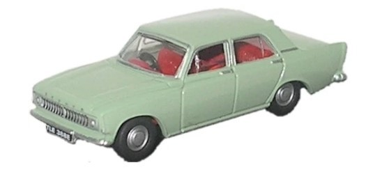 Miniatura  Ford Zephyr Pale Green 1/76 Oxford