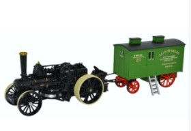 Miniatura Fowler BB1 Ploug Engine 1/76 Oxford
