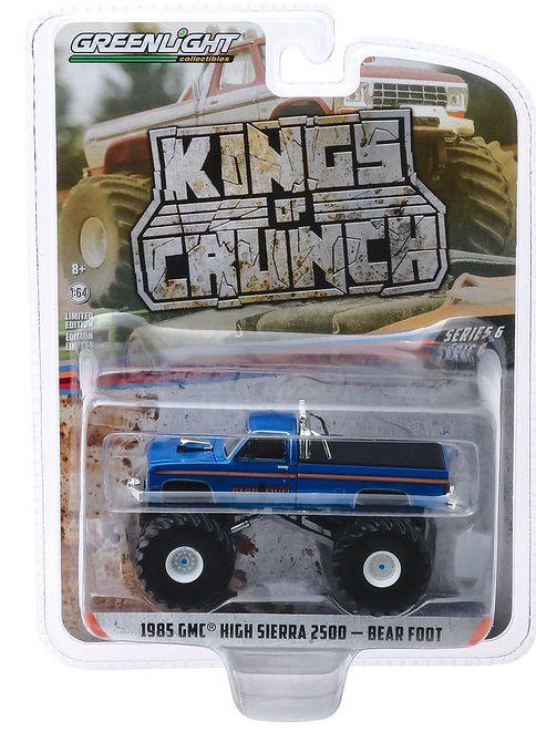 Miniatura GMC High Sierra 2500 1985 Monster Truck 1/64 Greenlight