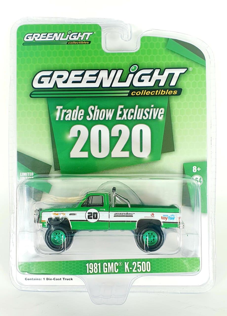 Miniatura GMC K-2500 1981 Exclusive Toy Fair 2020 Greenmachine 1/64 Greenlight